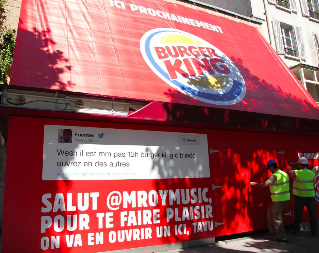 "Burger King France on Twitter: ""Voilà @MroyMusic. C'était"
