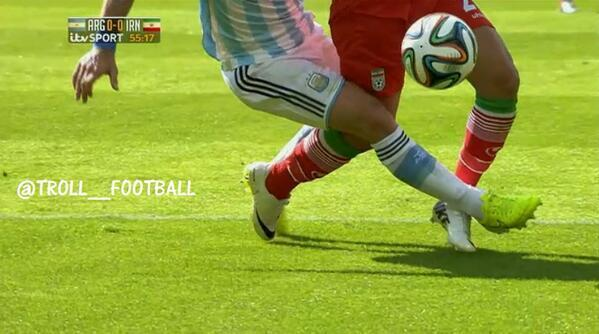 """Ouch.. """"@World: No penalty was given.. #ARG #IRN http://t.co/Z6QPJAXWY3"""""""