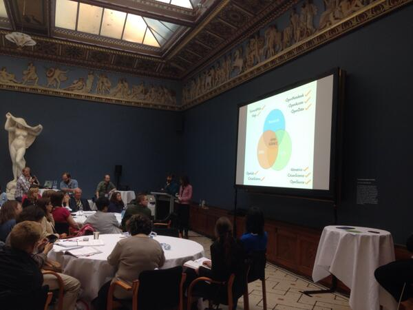Now up @introspection & @celyagd from #openscience community @HackYourPhd #globallocal #ESOF2014 http://t.co/efbUaDja4Z
