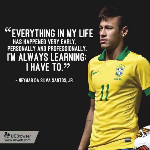 Uc Browser On Twitter We Re A Fan Of Football Prodigy Neymar Jr