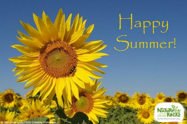 Today is the #SummerSolstice - the longest day of the year and the first official day of summer! http://t.co/Py1XJaIbae