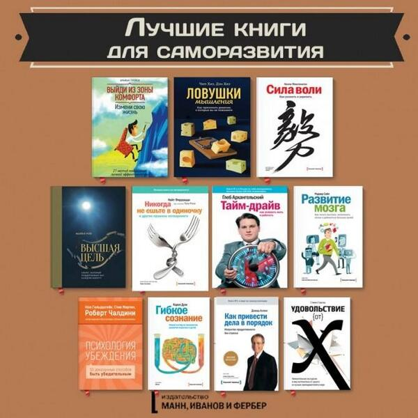 Бесплатно скачать книги по саморазвитию