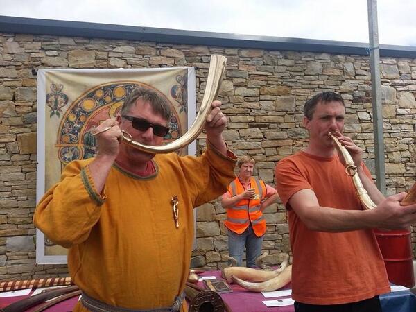 "MT ""@evinomeara: Interesting day playing Bronze Age Irish horns #cavan burren @ancientmusic @ThisIsCavan http://t.co/yOYd4BaAnN"""