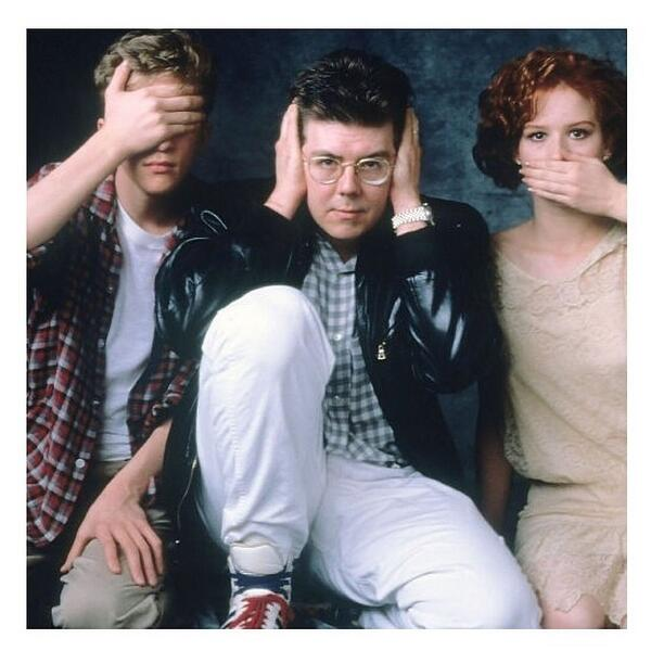 Image result for molly ringwald and john hughes