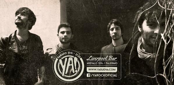 """""""@Anucristal: Ganó Argentina y hoy toca Ya! En el Liverpool Bar QUE MAS SE PUEDE PEDIR? @YA_Oficial @luca_ya  ♥ http://t.co/8IMSRgniE5""""/ voy"""