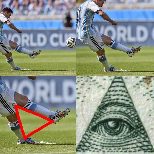 THIS JUST IN: LIONEL MESSI'S GOAL AGAINST IRAN WAS FAKE! FULL PROOF HERE. #WorldCup #ARGvsIRN http://t.co/22E8buJCaA