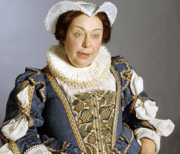 Patsy Byrne, best known as Blackadder II's mad old Nursie, has died aged 80. http://t.co/qgU9rj9Edf http://t.co/DPd991RM62