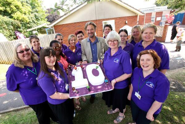 Barnardo S On Twitter Actor Simon Shepherd Celebrated Tenth Anniversary Of Redland Nursery In Chippenham Today Http T Co Vpf6obnsjj