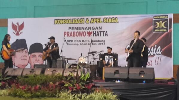 Kelompok Pemusik Jalanan (KPJ) di acara