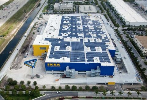 IKEA completes South Florida's Largest Solar Installation http://t.co/xRU8cAG30x http://t.co/BpMx3GgqvZ