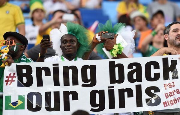"The girls are still missing...     #BringBackOurGirls     https://t.co/Ud3AqBSN8h"" #NGAvsBIH"