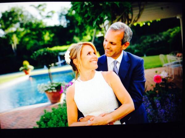 Mazal mazal good things to the happy couple!RT@katiecouric: So excited to make my debut as Mrs. John Molner! http://t.co/bE8BPdMYcL
