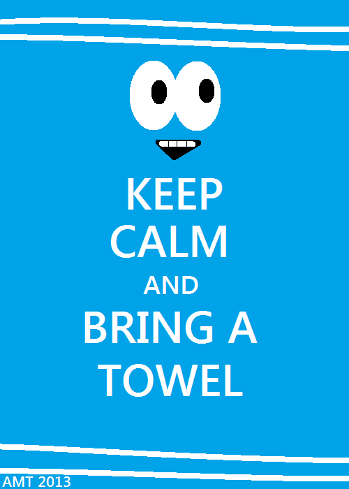 """Towelie on Twitter: """"When ur playin sports the sweat can get in ur face that's y Towelie says always keep an extra towel in ur duffle bag! ..."""