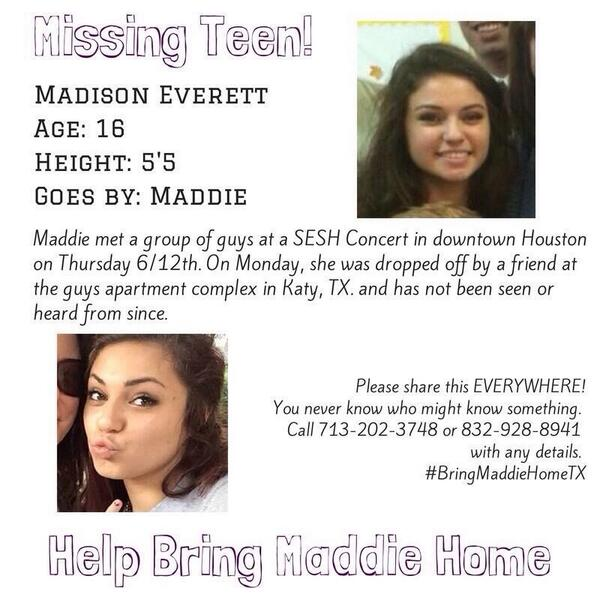 KATY, TX. please RT @6BillionPeople: If you have a heart please (RETWEET) this is very important #BringMaddieHomeTX http://t.co/Nn6gvmDHMC