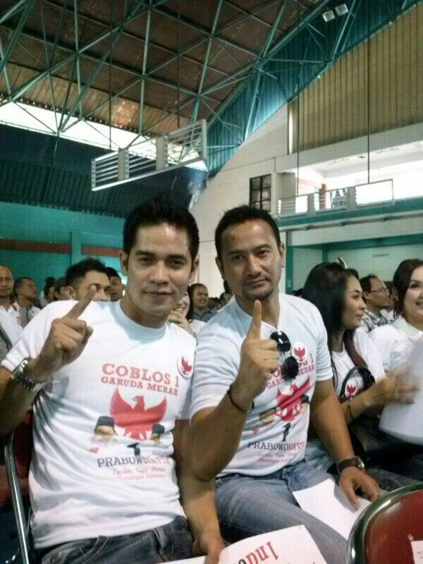 Ricky Perdana dan Muji Massaid hadir di acara