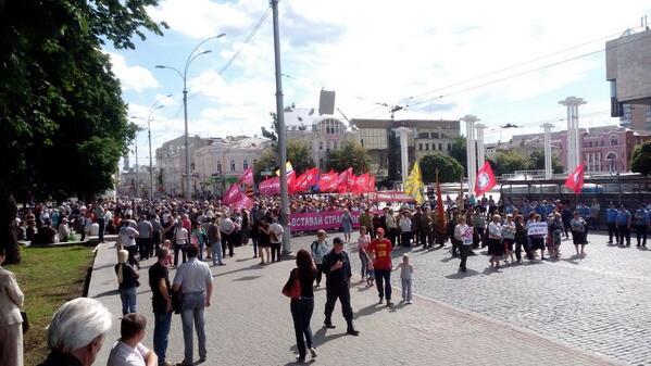 Автомайдан проехал Мариуполем впервые после освобождения города от боевиков - Цензор.НЕТ 5818