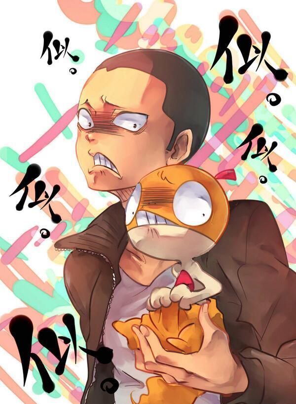ハイキューの田中さんとポケモンのズルッグは似てますよね~ pic.twitter.com/JETwFrCouC
