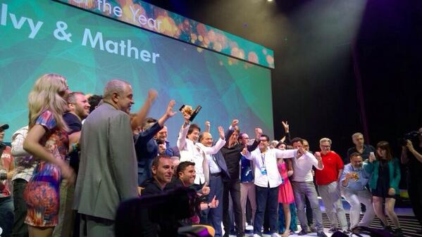Winner of the 2014 Network of the Year is Ogilvy & Mather!  #OgilvyCannes #CannesLions http://t.co/TvJ5EEx6ma