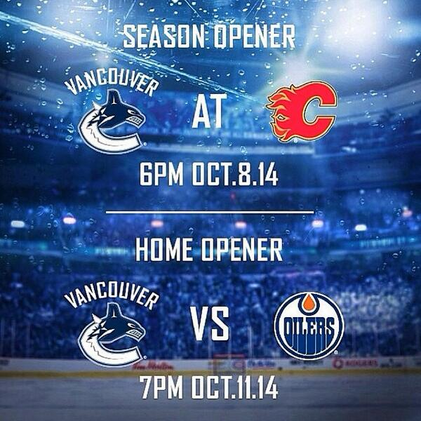 Only 109 sleeps! #gocanucksgo @VanCanucks #Vancouver #Canucks http://t.co/yK8woZJRKM