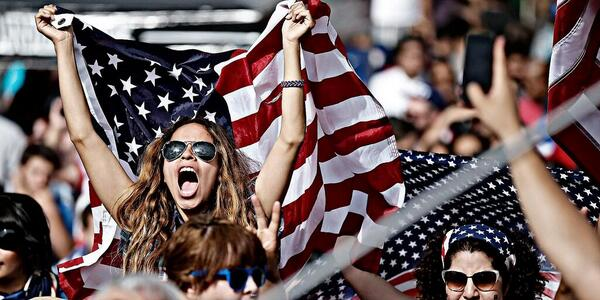 Yup, pretty much sums up our feelings. #IBelieveThatWeWillWin RT @MLS: Good morning! #USA #USA #USA #USA http://t.co/kH5rD1itjJ
