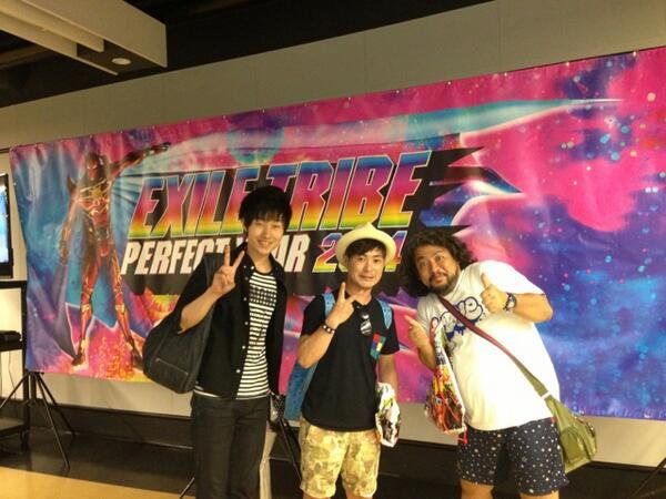埼玉スーパーアリーナ。EXILE  TRIBE  THE  SURVIVAL2014見に行かせていただきました。  最終日。  めちゃくちゃ盛り上がっていました。  かっこよかったぁ。 http://t.co/AooMKe7dvT