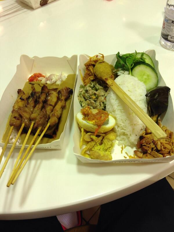 Flying to Sydney tonight for Australian SS ... Goodbye Indonesia, always a pleasure and will really miss this food... http://t.co/mZSSWu9Yne