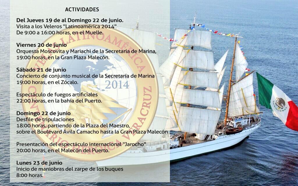 Centenario Gesta Heroica Veracruz: Velas Internacionales 2014 BqwQfRVCcAENwHX