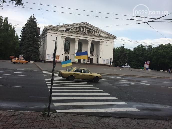 Автомайдан проехал Мариуполем впервые после освобождения города от боевиков - Цензор.НЕТ 4706