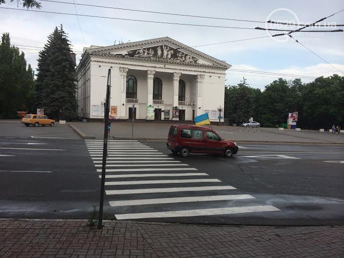 Автомайдан проехал Мариуполем впервые после освобождения города от боевиков - Цензор.НЕТ 9951