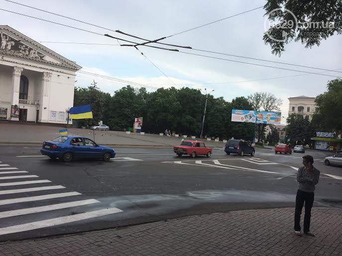 Автомайдан проехал Мариуполем впервые после освобождения города от боевиков - Цензор.НЕТ 8034