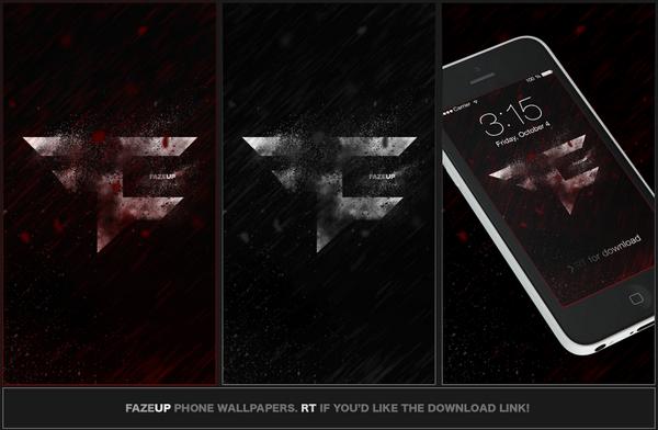 Faze Ali On Twitter Some Simplistic Fazeclan Phone Wallpapers For
