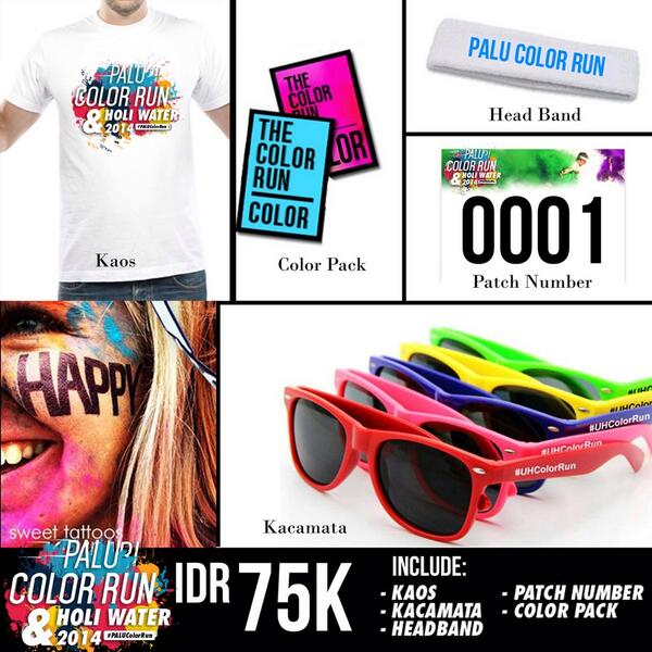 Run Color Party On Twitter Info Tiket Palucolorrun 1 Gold