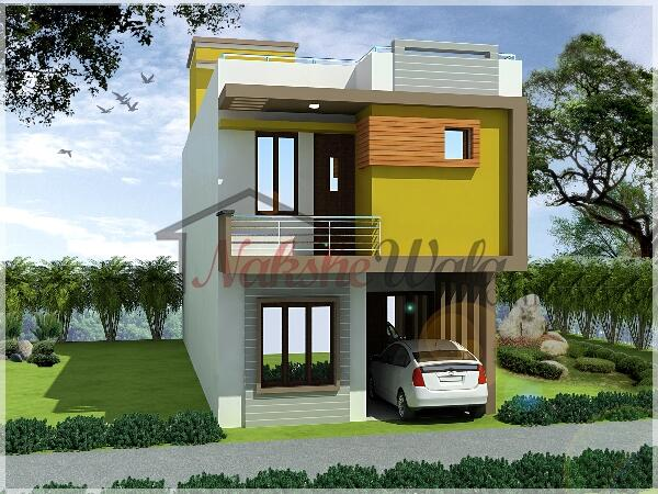 Nakshewala on twitter looking for small house design for Small house outer design