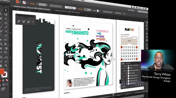 Walk through @TerryLWhite's favorite new features in the latest release of #Illustrator CC. http://t.co/hjlIpMF0Q2 http://t.co/6EPpl7Dqme