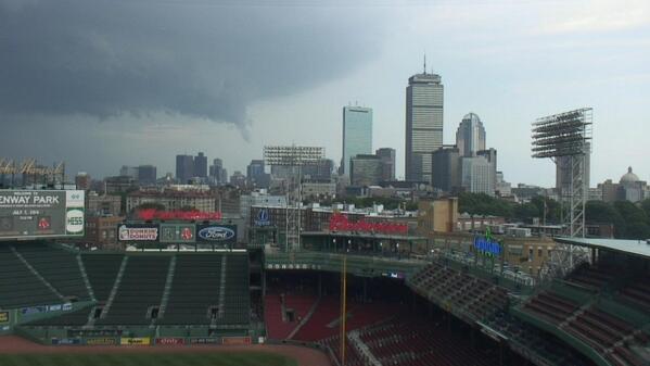"""Jacob Wycoff on Twitter: """"Tornado warned storm in Boston ..."""