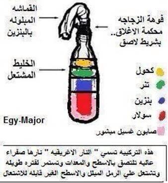 Molotov Cocktail Arabic