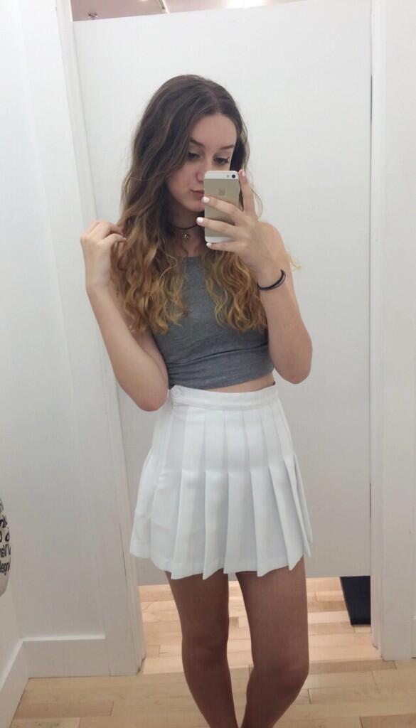 Tennis skirt porn