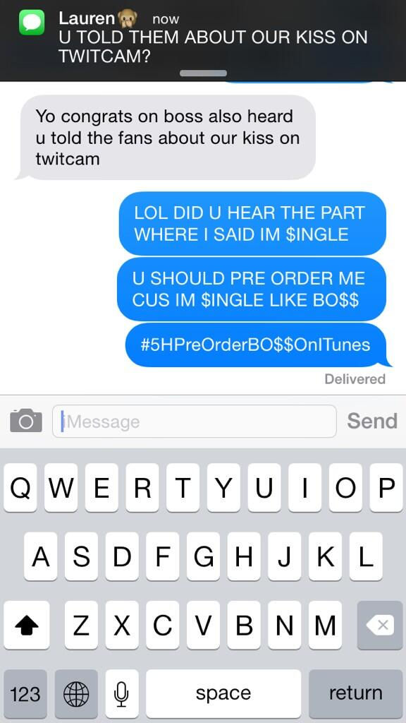 Kordeigui On Twitter Text Message Between Austin Mahone And Camila