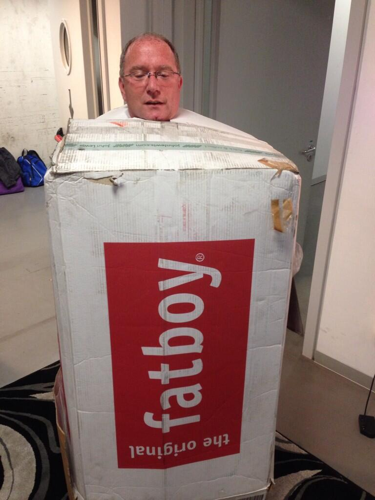 Clear packaging on the Top Gear Live promoter http://t.co/WsbDIEIjK4