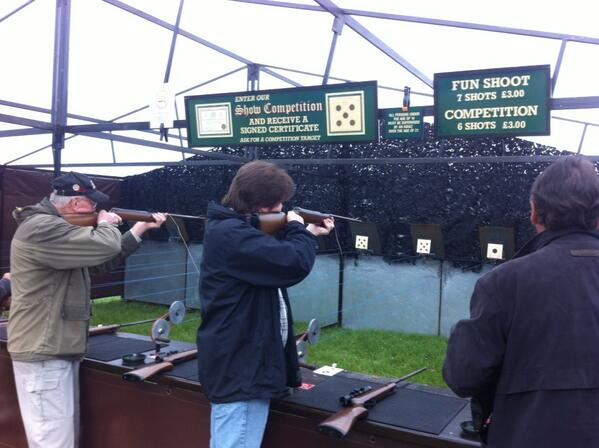 Try your #skills up at shooting range - clays & rifles http://t.co/ijOTqcPn2d