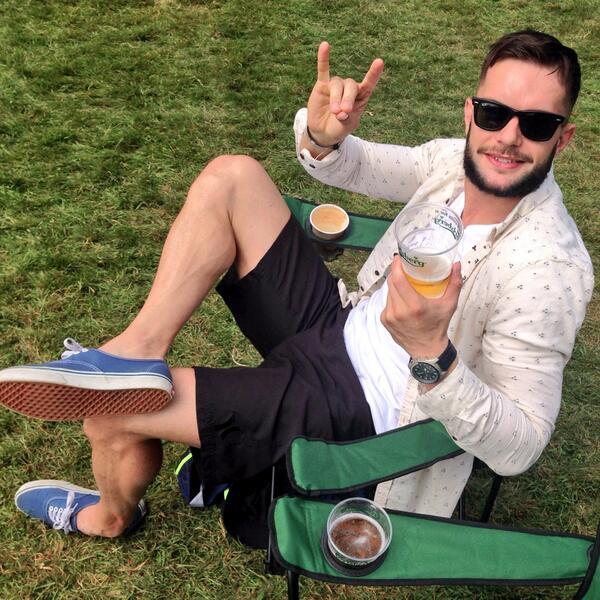 "Finn Bálor on Twitter: ""Naylor of @BigSeptember belting out the tunes ..."
