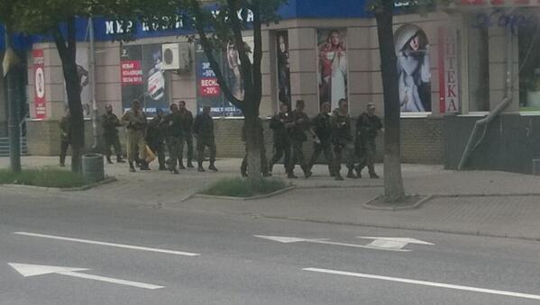 В Донецке боевики атакуют спецназ тюремщиков: хотят забрать оружие - Цензор.НЕТ 681