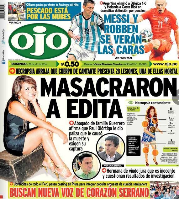 """Diario Ojo on Twitter: """"¡Buen día! Nuestra portada de hoy ..."""