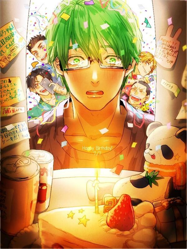 真ちゃん誕生日おめでとう!頑張り屋さんな君が大好きです。人事を尽くす緑間くんにはやく勝利の女神が微笑みますように! pic.twitter.com/2ING4hGxP8