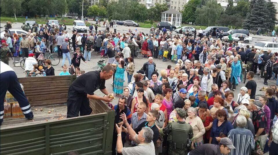 Аграрии оказывают продовольственную помощь жителям Краматорска и Славянска, - Швайка - Цензор.НЕТ 9878