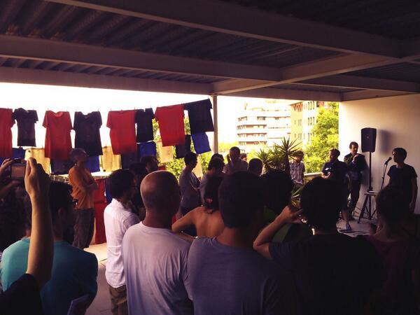 Comencem la setmana de #aacc_bcn al terrat de la @nauivanow! Tota la informació a http://t.co/6KCde9XJ8f http://t.co/GX7MmBJiEk