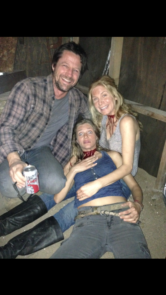 Just found this one: Good times on the set of Revolution. http://t.co/bYo3nxRBNw