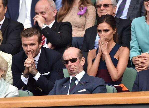 You know it's serious when Victoria Beckham is actually displaying emotions. http://t.co/3N8eiYlp3w