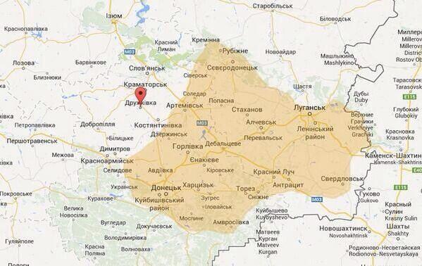 Открыты гуманитарные коридоры для поступления помощи на восток Украины, - МВД - Цензор.НЕТ 2584