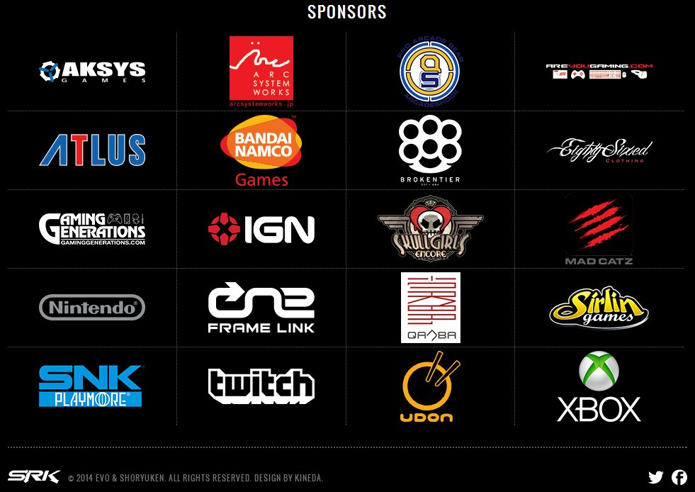 Nintendo is now a sponsor of Evolution 2014 — one of the biggest fighting-game events — after years of ignoring it